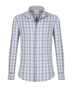Camicia Trendy Luxury Vintage grigio chiaro, extra slim FRANCESE_0
