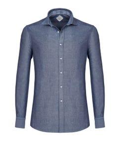 Camicia trendy luxury vintage grigia, extra slim francese_0