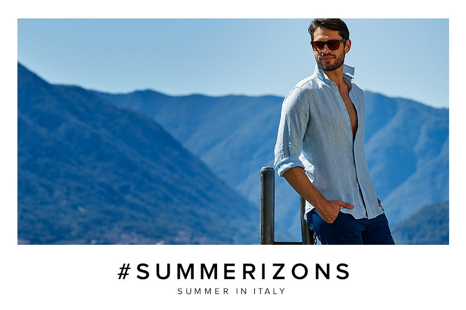 CAMICISSIMA PRESENTA LA CAMPAGNA #SUMMERIZONS - SUMMER IN ITALY