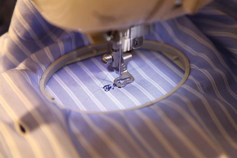 Camicie personalizzate: tornano di gran moda i ricami