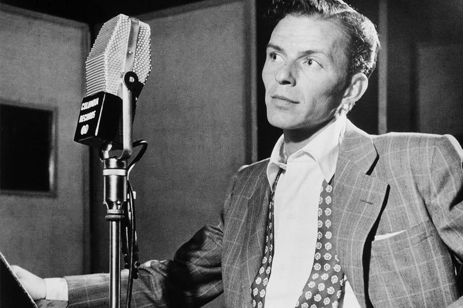 """Frank Sinatra, il genio e lo stile di """"The Voice"""" - Percorri la storia"""